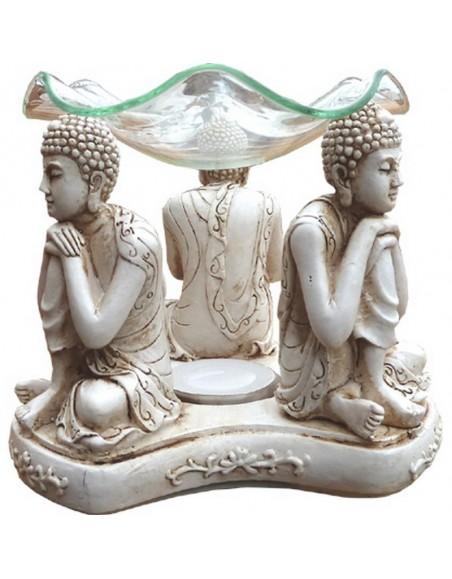 Brûle parfum Bouddhas ivoires