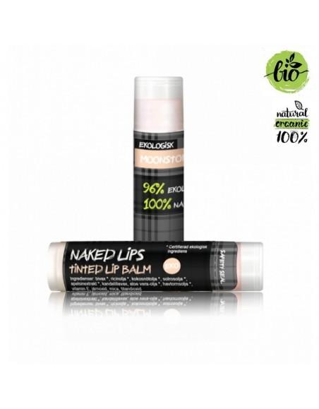 Naked Lips Organic Lip Balm Moonstone tinted