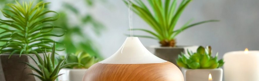 Our selection of essential oil diffusers