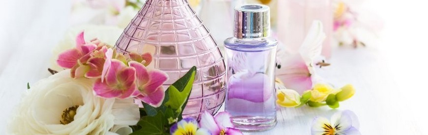 Perfumes and natural floral waters