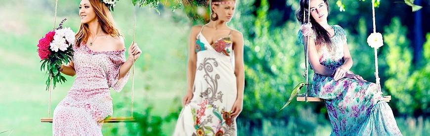 Kementari: Bohemian or ethnic long dresses
