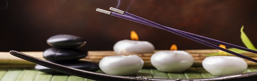 Indian and Japanese incense